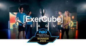 We won the Fibo Award 2020 with our ExerCube League