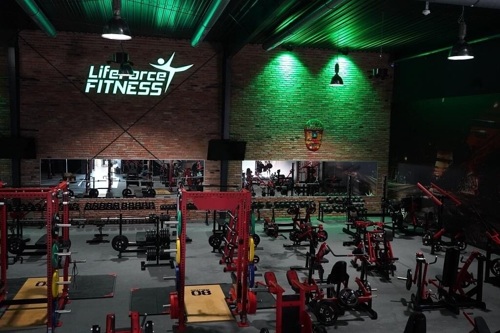 Sphery at lifeforce fitness